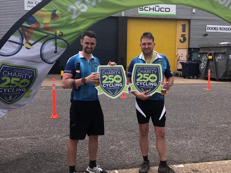 DAC Team take part in 25km Cycle ride for charity